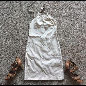Charlotte Russe Dresses & Skirts - Charlotte Russe Cream Halter Dress