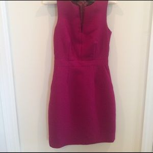 J. Crew Dresses & Skirts - J. Crew split neck sheath dress in wool/silk