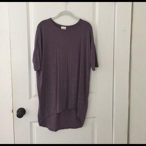 LuLaRoe Tops - Lularoe Irma - purple/slate color