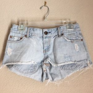 American Eagle Outfitters Pants - American eagle outfitters denim cutoff shorts