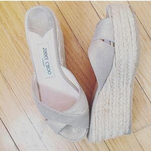 Jimmy Choo Shoes - Jimmy Choo Authentic Wedge Espadrilles size 36/6