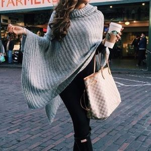 goodnight macaroon Sweaters - Poncho Sweater