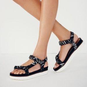 Free People Shoes - Free People Sienna Black Gladiator Sandal