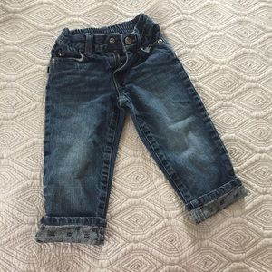 Amy Coe Other - Skull lined jeans- adorable