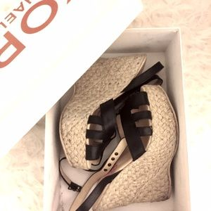 KORS Michael Kors Shoes - Michael Kors Sanai Wedge Sandals size 7 w/ Box!