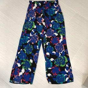 Rainbow Pants - Floral pants