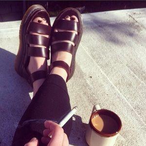 Dr. Martens Shoes - Dr. Martens Clarissa Sandal Brown