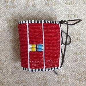 Jewelry - Handmade Maasai bracelet/cuff.Unisex