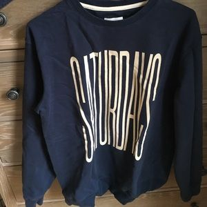 Saturdays Surf NYC Other - SATURDAYS Surf NYC navy crew neck sweater