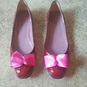 Charles Jourdan Shoes - Charles Jourdan ribbon flats
