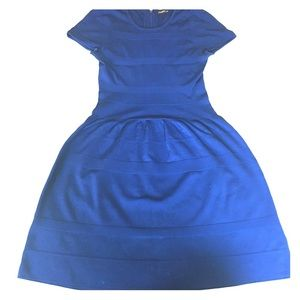 J. McLaughlin Dresses & Skirts - J.McLughlin Dress- Stretch fabric w striped detail