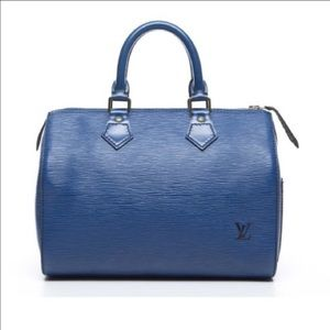 Louis Vuitton Handbags - 💯authentic Louis Vuitton blue speedy
