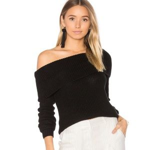 •Lovers and Friends black off the shoulder size M•