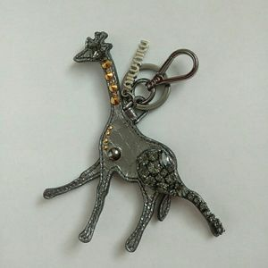 Miu Miu Accessories - Miu Miu Leather Giraffe Key chain