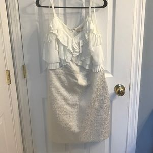 White dress from The Loft