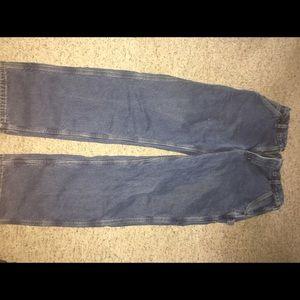 Carhartt Denim - Carhartt flannel on the inside jeans