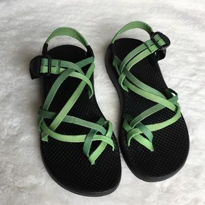 Chaco Shoes - Chaco Women's Green Sandals size 7