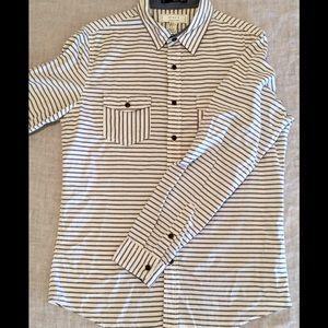 21men Other - Forever 21 Men Button-Up Striped Shirt