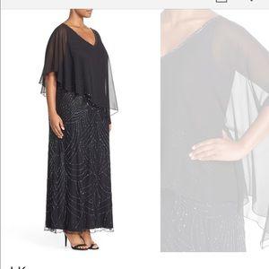 J Kara Dresses & Skirts - J Kara navy formal gown