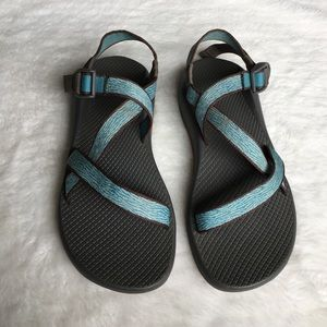 Chaco Shoes - Chaco Women's Blue Sandals size 9