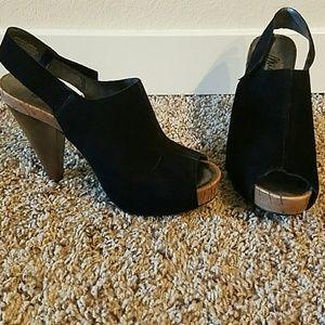 Miss Sixty Shoes - Miss Sixty Peep Toe Heels