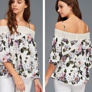 Tops - Stella Floral Crochet Top