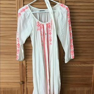 Velvet Dresses & Skirts - Mexican embroidered dress