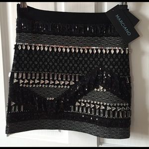 Marciano Dresses & Skirts - NWT! Marciano Skirt // Rhinestone embellishment