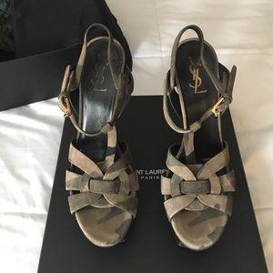 Yves Saint Laurent Shoes - YSL Tribute Sandals