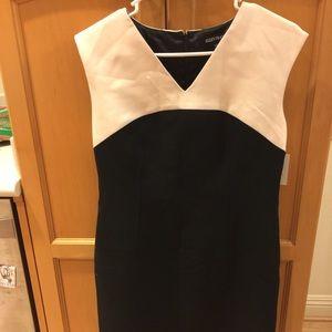 John W. Nordstrom Dresses & Skirts - Nordstrom cream and black office dress 👗