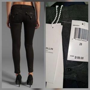 Hudson Jeans Denim - Hudson Collin Skinny Jeans Black