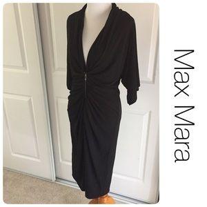 MaxMara Dresses & Skirts - Max Mara chic dress w/ front zipper  sz 12 🇮🇹