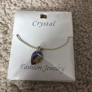 Crystal Doll Jewelry - Crystal Necklace & Earring Set