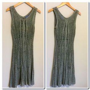 Simply Vera Vera Wang Dresses & Skirts - Simply Vera Wang Open Knitwork Sweater Dress