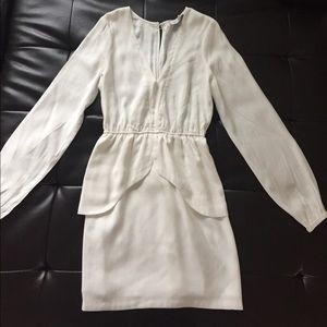 Finders Keepers Dresses & Skirts - Finders Keepers White Apron Mini dress NWOT
