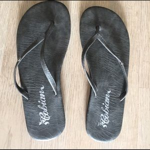 Cobian Shoes - Grey Cobian Flip Flops