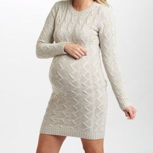 Pinkblush Dresses & Skirts - Pinkblush maternity sweater dress
