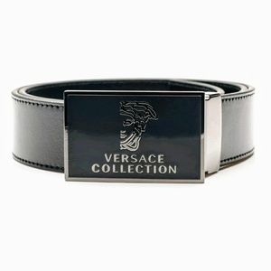 Versace Other - *NWT Versace Collection Mens Medusa Leather Belt