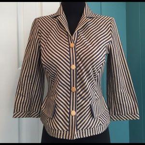 Philosophy di Alberta Ferretti Jackets & Blazers - Philosophy Alberta Ferretti striped jacket