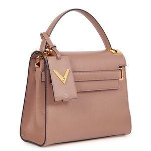 Valentino My Rockstud Single Handle Bag Blush