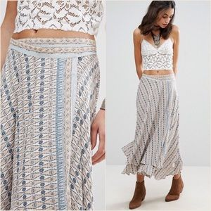 FREE PEOPLE / MAXI Wrap Skirt