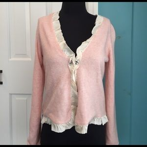 Rebecca Taylor Sweaters - Rebecca Taylor cashmere blend silk lined cardigan