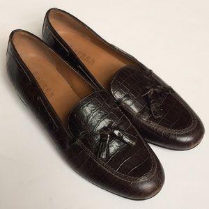 Ralph Lauren Shoes - Ralph Lauren Croco Loafers Shoes