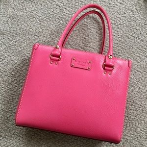kate spade Wellesley Quinn Handbag HOT PINK