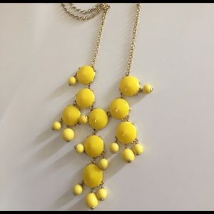 J. Crew Factory Jewelry - Yellow J.Crew Factory Bubble Necklace
