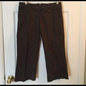 Pants Capri brown