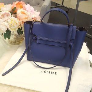 Celine Mini Belt Bag Bleu Royal Amazing Condition!