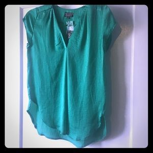 Green blouse, size XS