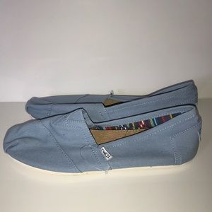 TOMS Shoes - Brand new women's TOMS in powder blue flats
