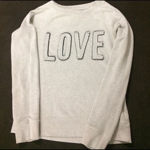 Buckle Sweaters - Buckle LOVE Crew Neck Pullover